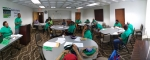 Panoramic view of the Felder business meeting.